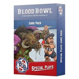 Games Workshop Blood Bowl Special Plays Cards