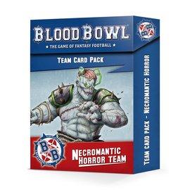 Games Workshop Necromantic Team Cards