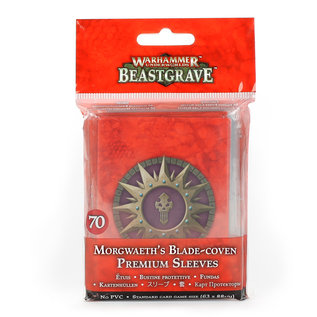 Games Workshop Morgweath's Blade-Coven Premium Sleeves