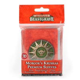 Games Workshop Morgok's Krushas Premium Sleeves