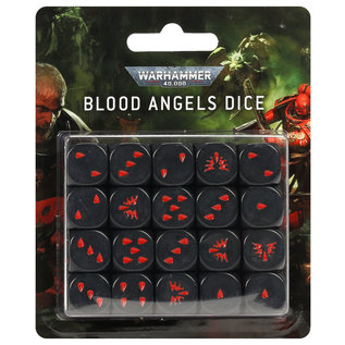 Games Workshop Blood Angels Dice Set