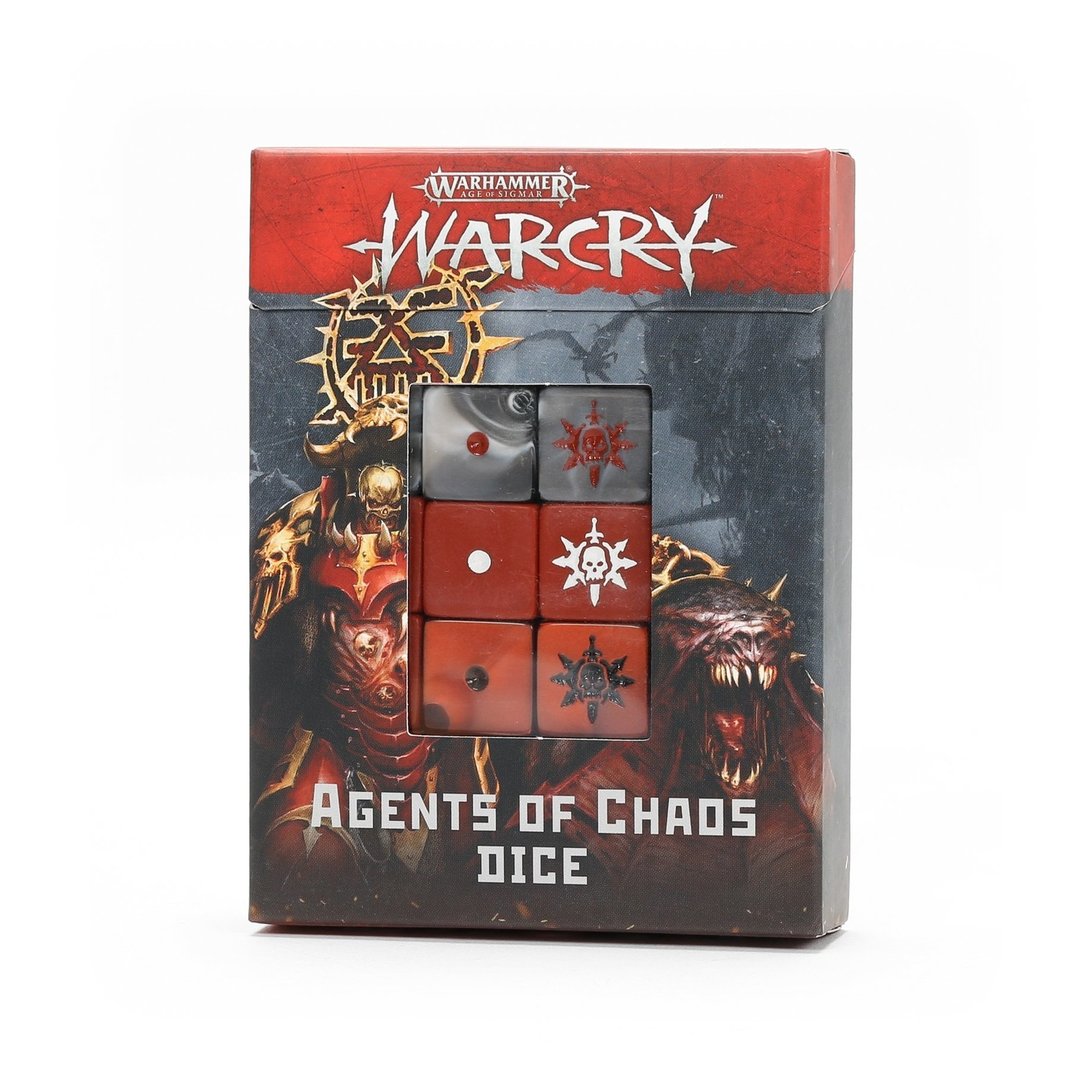 Games Workshop Agents of Chaos Dice