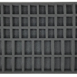Battlefoam 30 Medium Troop 18 Large Troop 1.5 Inch Tray