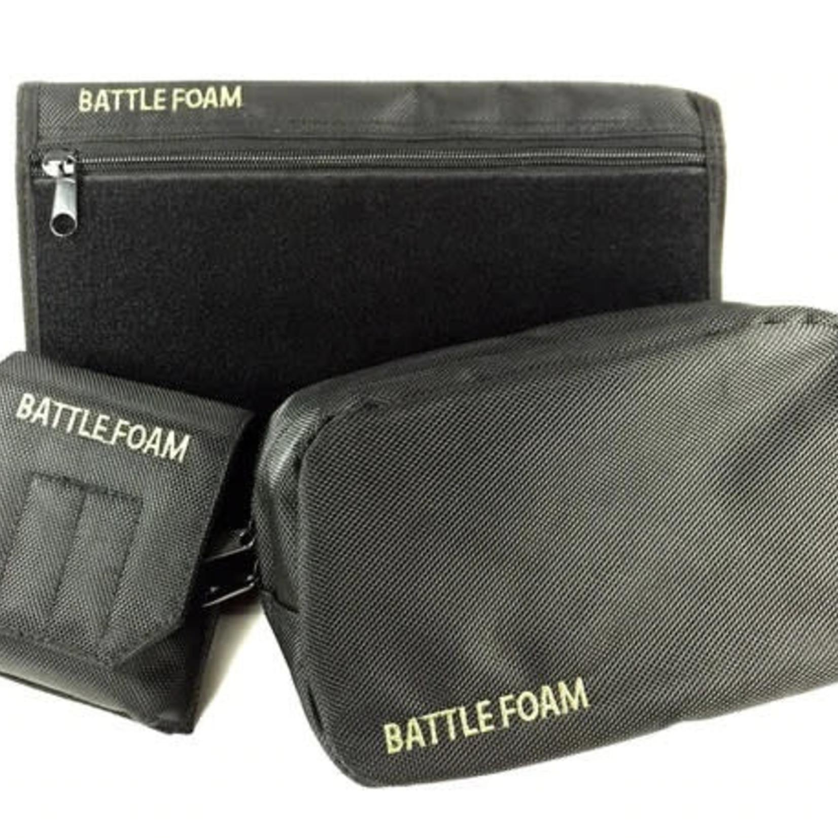 Battlefoam Grenade Ditty Media Molle Accessory Pack (Black)