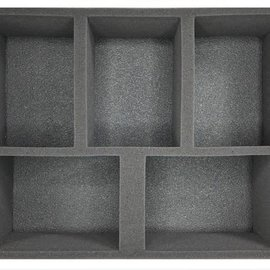 Battlefoam 5 Universal Generic Vehicle Tray 4 Inch