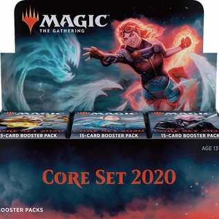 Wizards of the Coast Core 2020 Booster Box Display