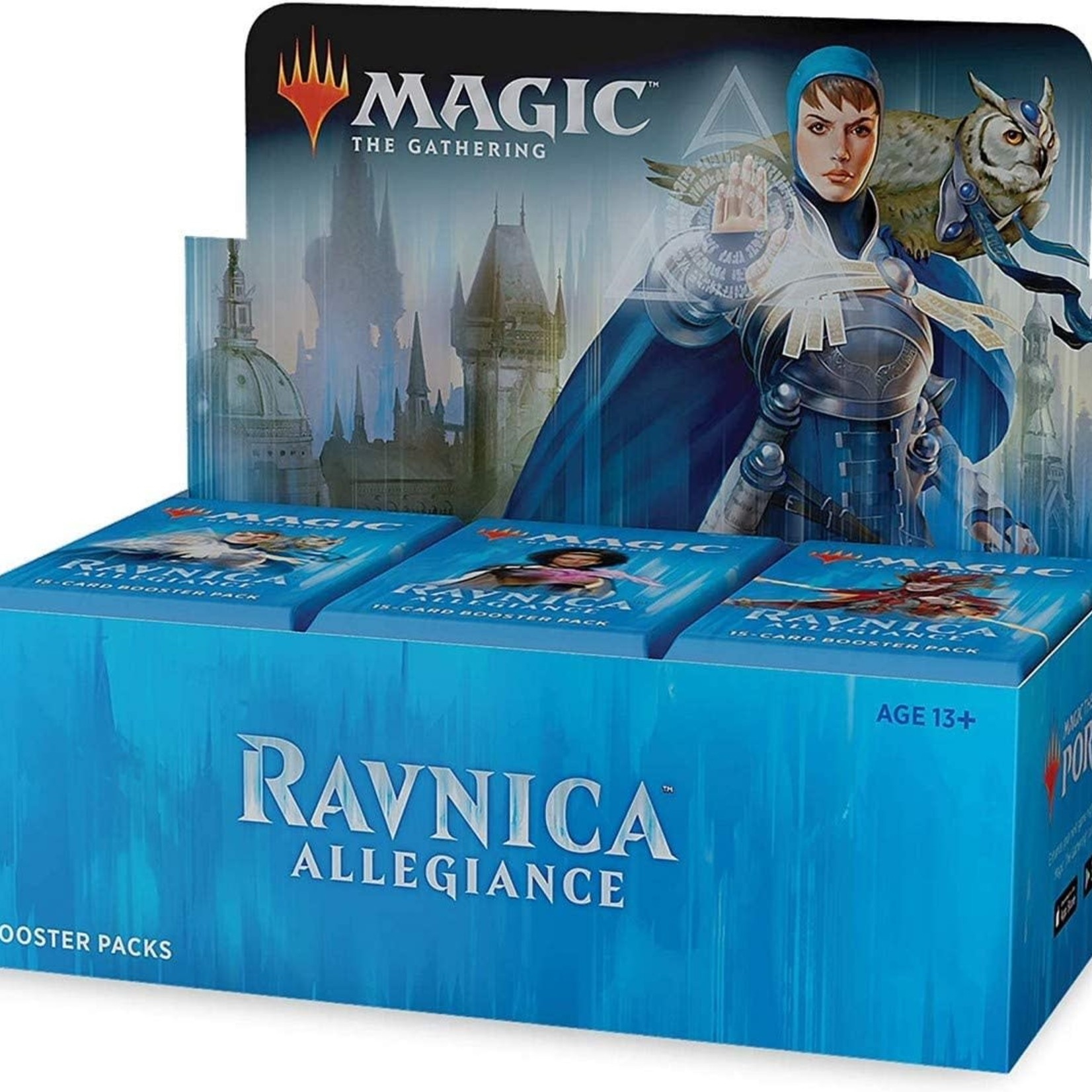Wizards of the Coast Ravnica Allegiance Booster Box Display