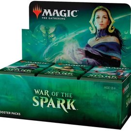 Wizards of the Coast War of The Spark Booster Box Display