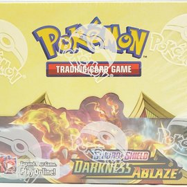 Pokémon Darkness Ablaze Booster Box Display