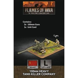 Flames of War 100mm Heavy Tank-Killer Company