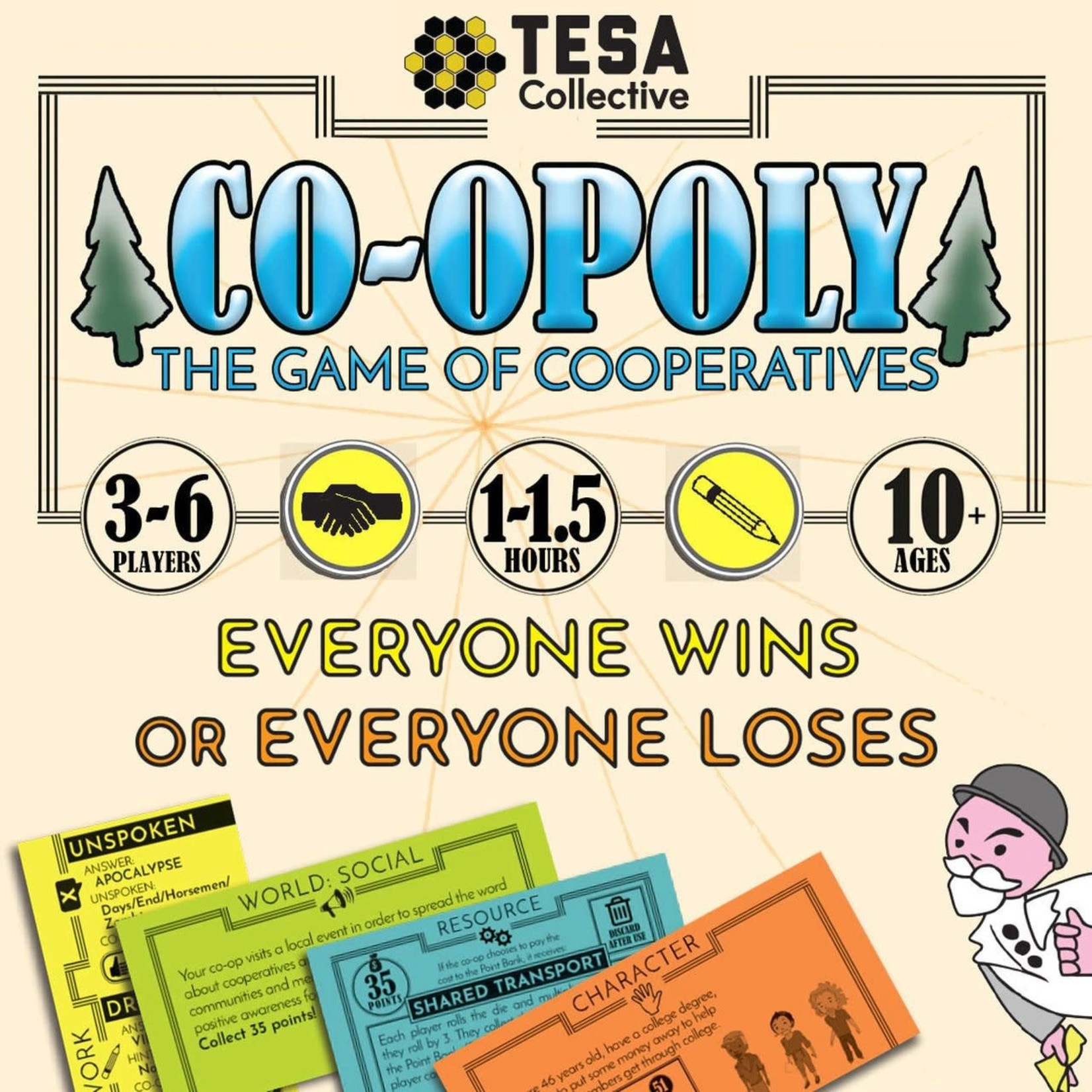 TESA Co-opoly: The Game of Cooperatives