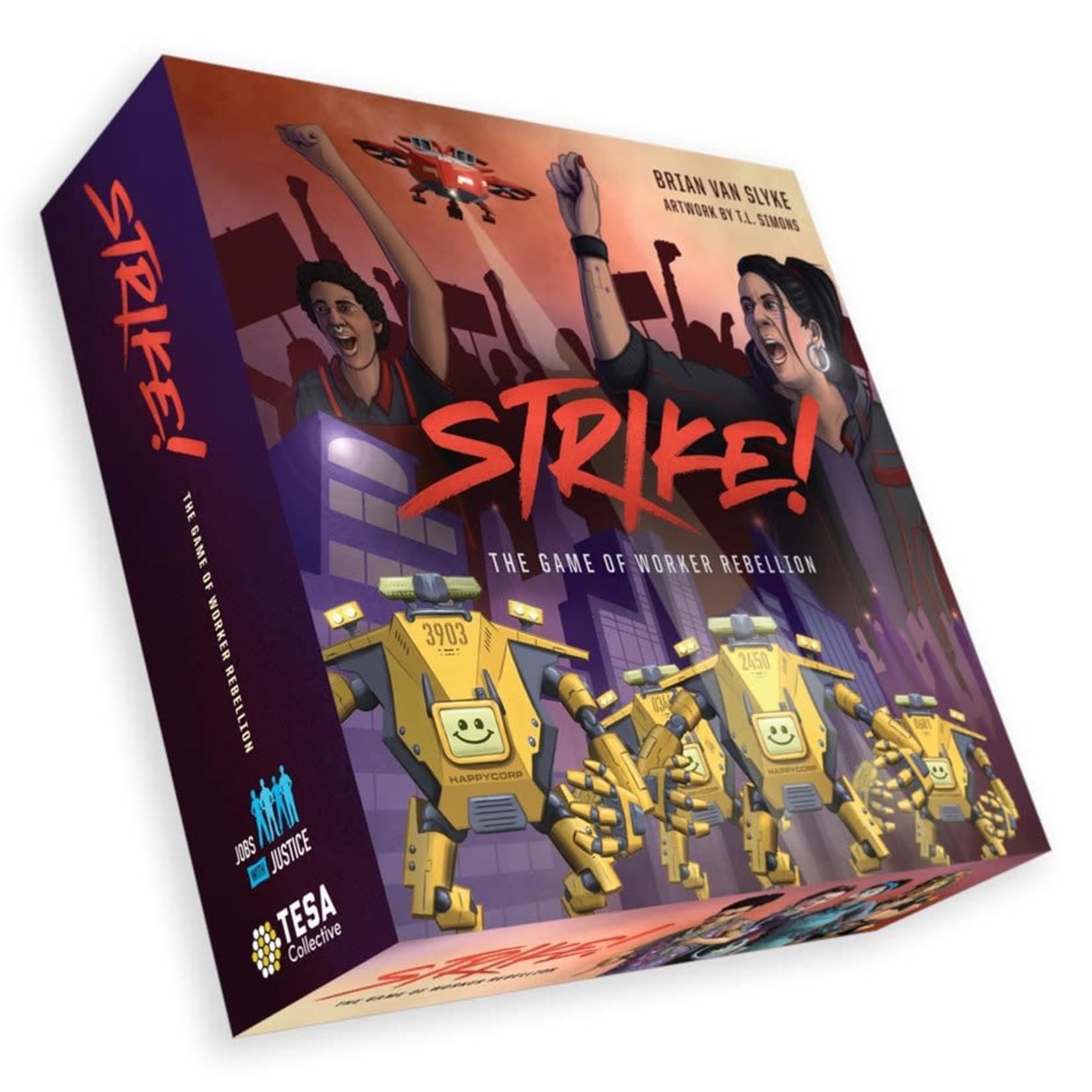 TESA STRIKE! The Game of Worker Rebellion