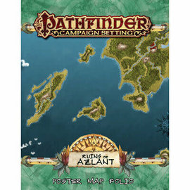 D&D Pathfinder: Campaign Setting- Ruins of Azlant Poster Map Folio