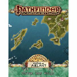 WizKids Pathfinder: Campaign Setting- Ruins of Azlant Poster Map Folio