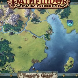 D&D Pathfinder: Campaign Setting- The Tyrant's Grasp Poster Map Folio