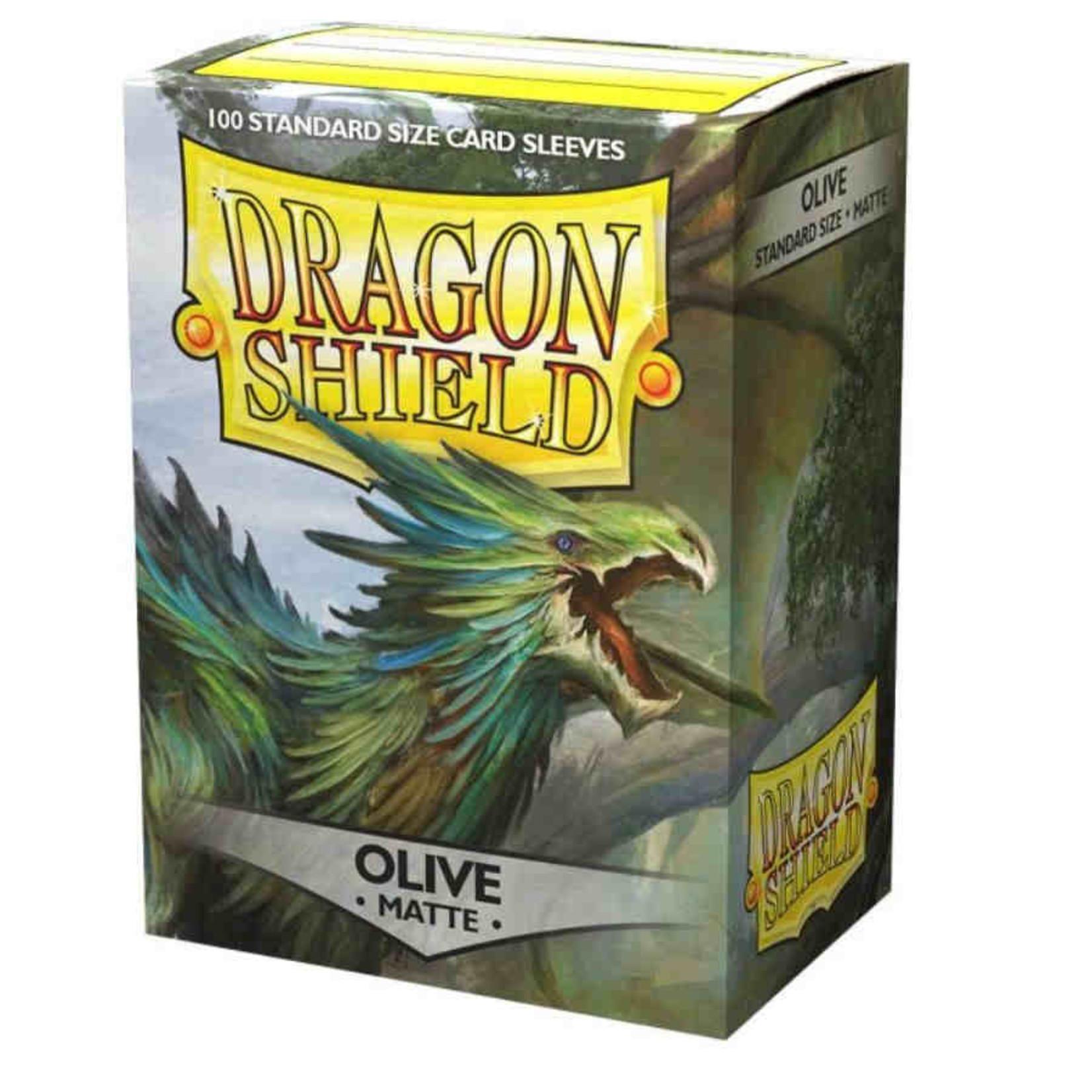 Arcane Tinmen Dragon Shield Matte Olive