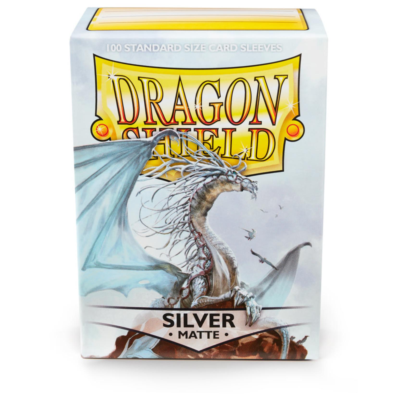 Arcane Tinmen Dragon Shield Matte Silver