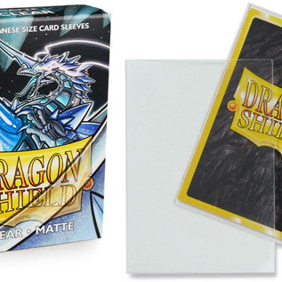 Dragon Shield Dragon Shield Mini/Japanese Matte Clear