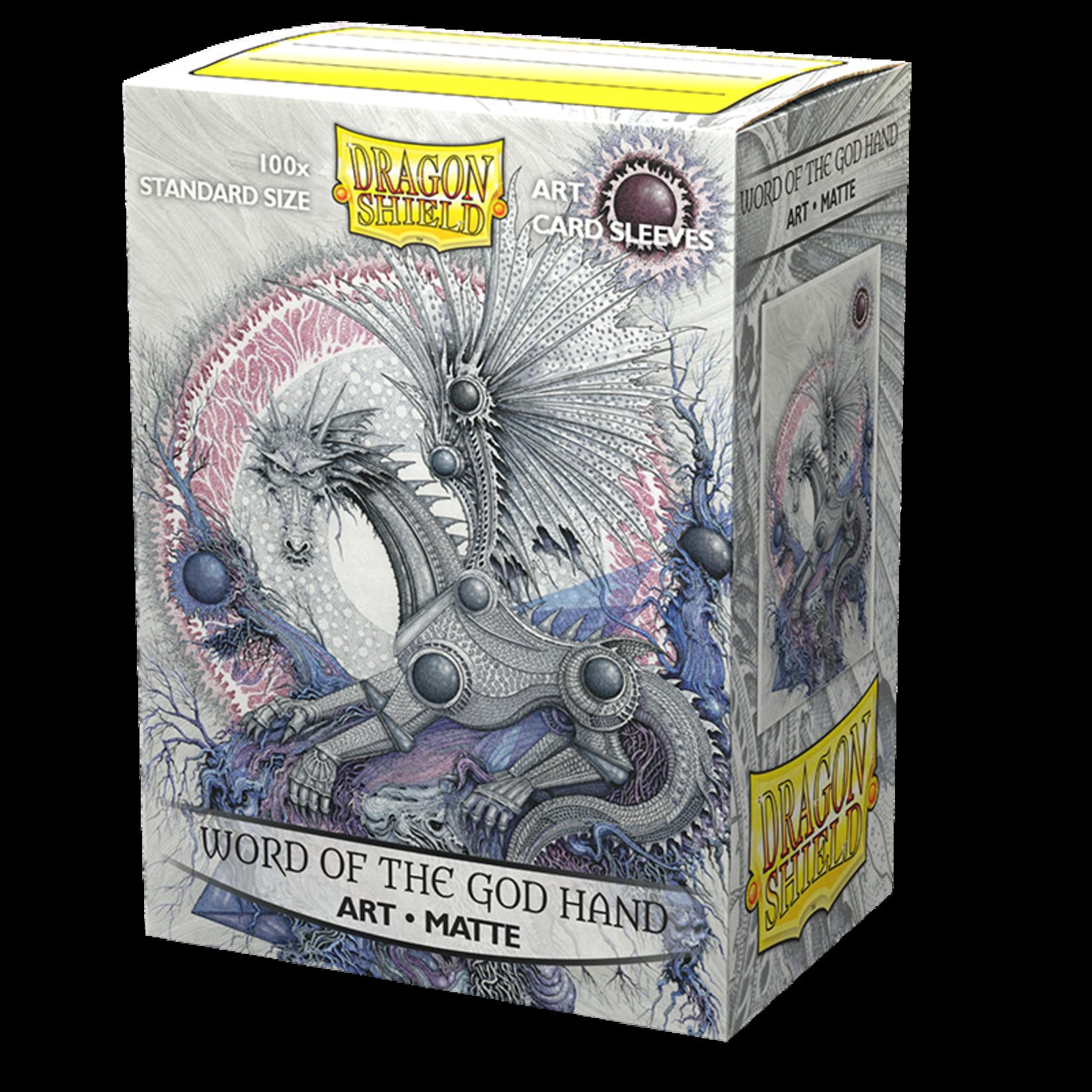 Arcane Tinmen Dragon Shield Word of the God Hand Art