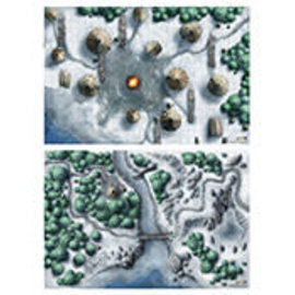 "Icewind Dale Map Set 20""30"""