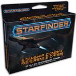 Paizo Starfinder Starship Combat Reference Cards