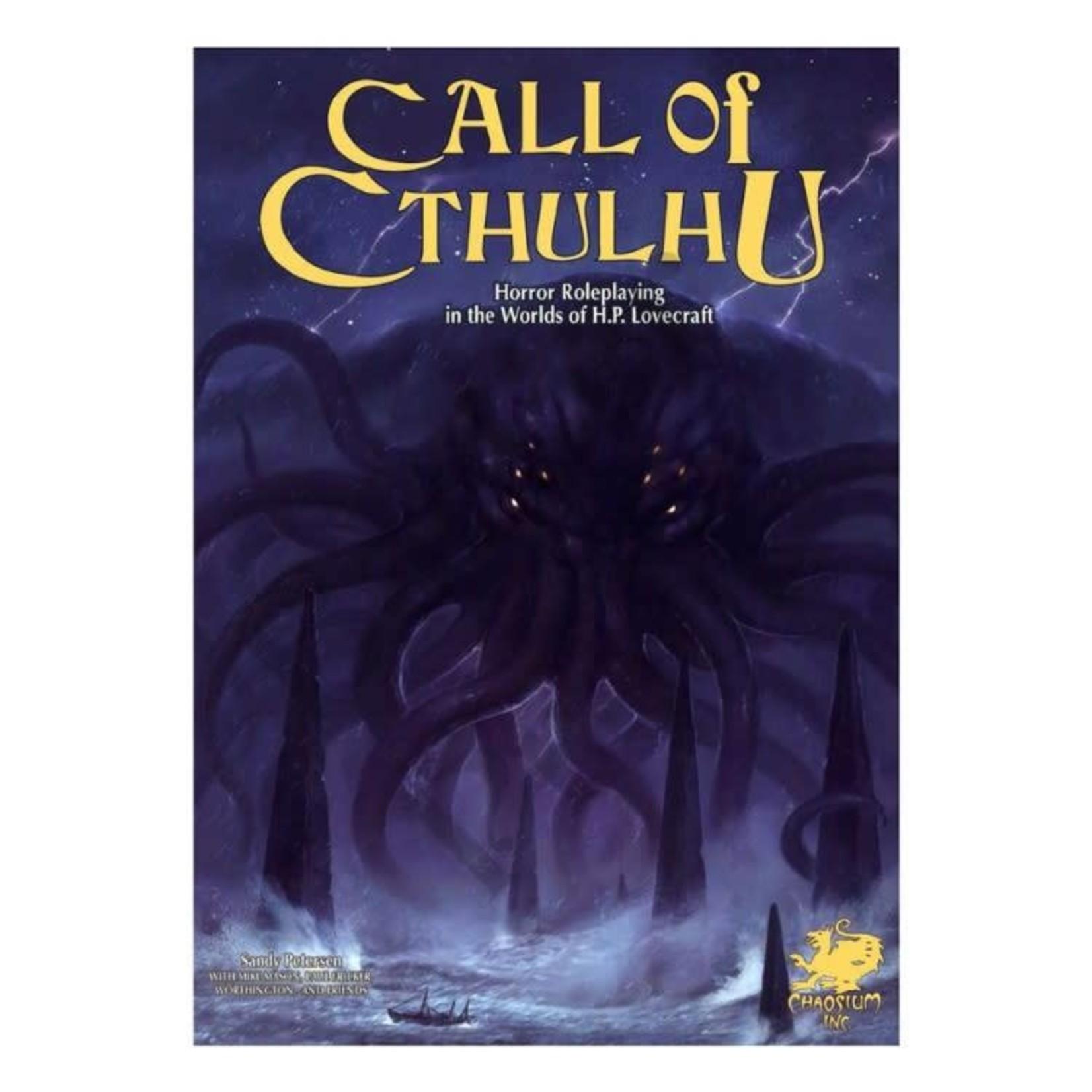 Call of Cthulhu Keeper Handbook