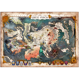 Cubicle 7 PREORDER -  AoS Soulbound 'The Great Parch' Poster Map