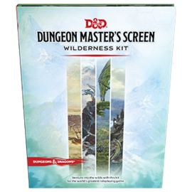 Wizards of the Coast D&D DM Screen Wilderness Kit