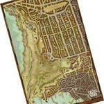 Gale Force 9 Waterdeep City Map