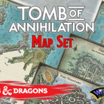 Gale Force 9 Tomb of Annhilation Map Set
