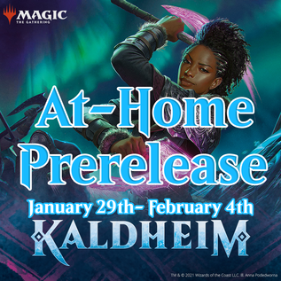 Wizards of the Coast PREORDER - Kaldheim At-Home Prerelease