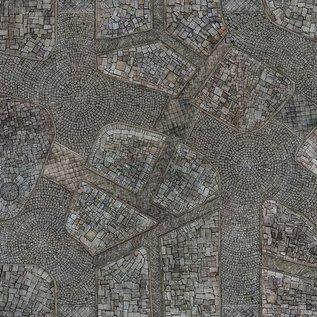 Para Bellum Cobblestone City Mat 4'x4'