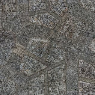 Para Bellum Cobblestone City Mat 44x60