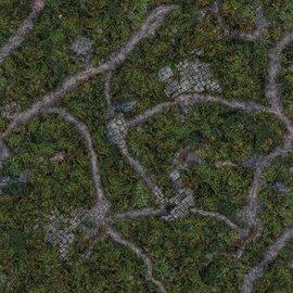 Para Bellum Ancient Green Mat 4'x4'