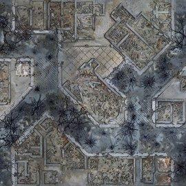 Para Bellum Warzone City Mat 4'x4'