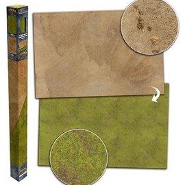 Battlefield In a Box Grassland/Desert 6'x4' Neoprene Mat