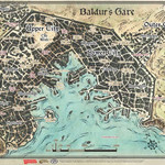 Gale Force 9 Baldur's Gate Map
