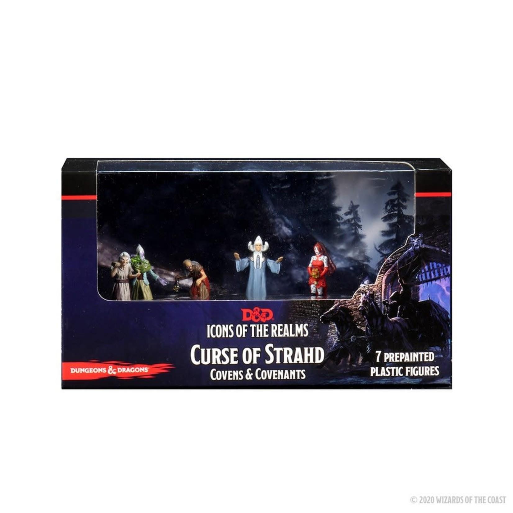 WizKids D&D Prepainted Minis: Curse of Strahd - Covens and Covenants Premium Box Set