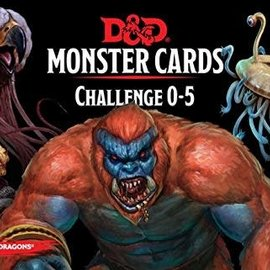 Wizards of the Coast D&D Spellbook Cards Monster Cards Challenge 0-5