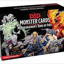 Wizards of the Coast D&D Spellbook Cards Monster Cards Mordenkainen's Tome of Foes