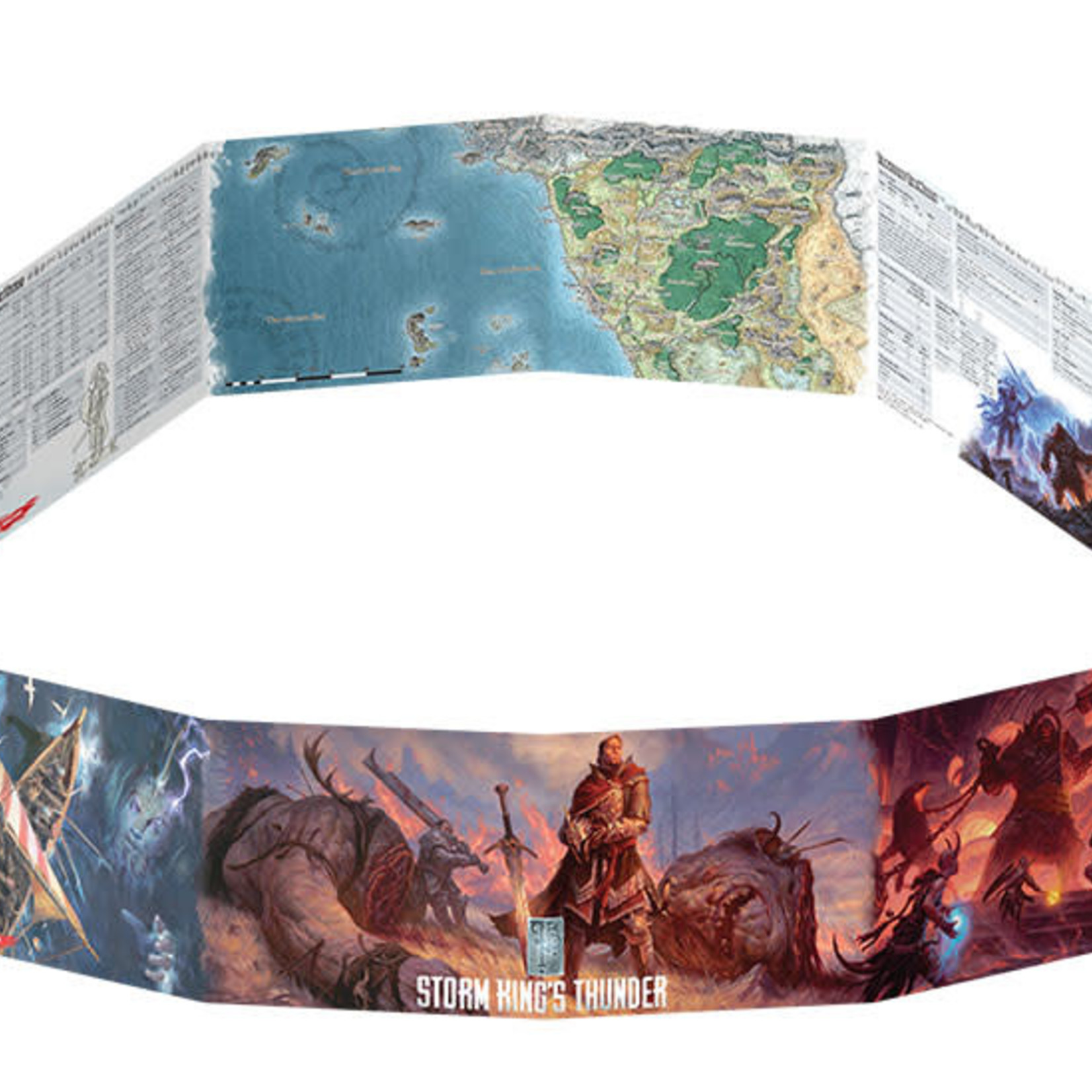 Wizards of the Coast D&D DM Screen Storm King's Thunder