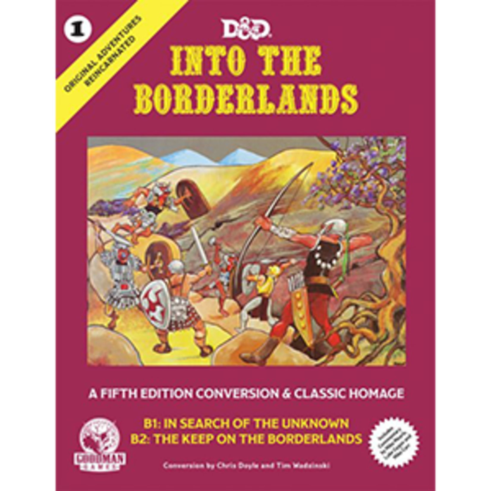 Wizards of the Coast D&D Into The Borderlands