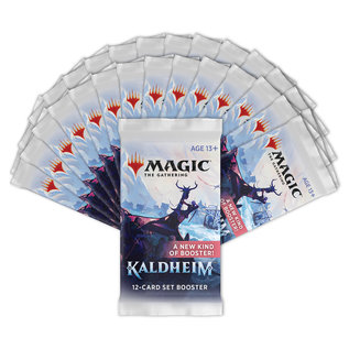 Wizards of the Coast PREORDER - Kaldheim Set Booster Box Display  (February 5th 2021)
