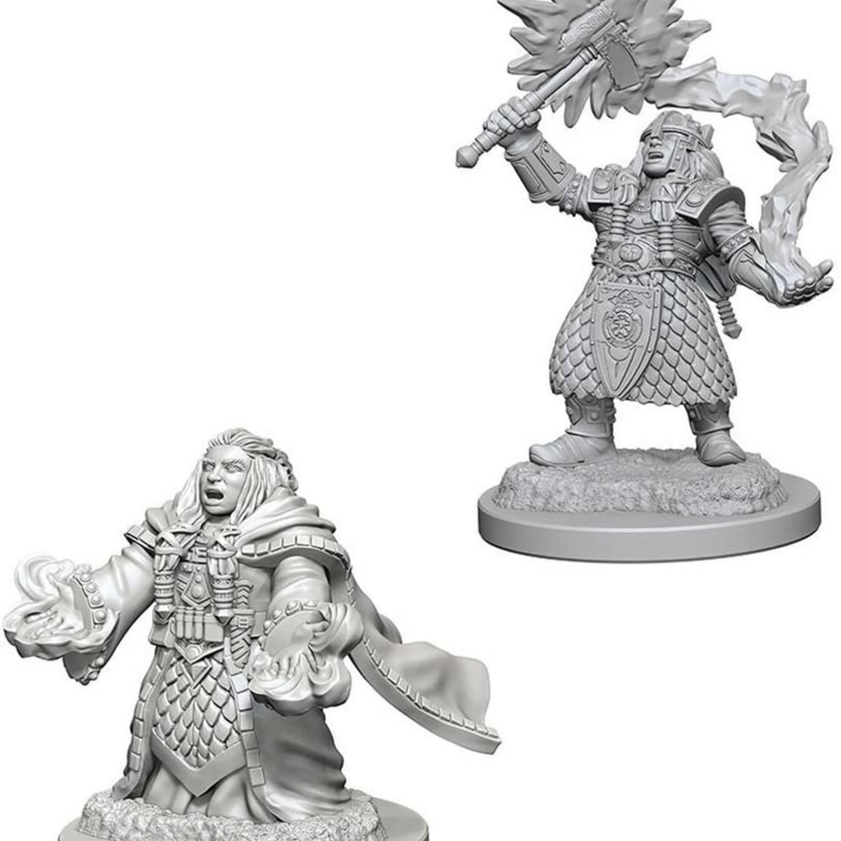 WizKids D&D Minis: Wave 4 - Dwarf Female Cleric