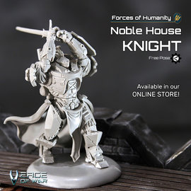 Verge of War Noble House Knight Free-Pose