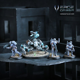 """Verge of War Astroborne Infantry Squad with """"Mule"""" FWP"""