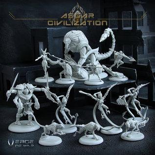 Verge of War Asgar Faction Box
