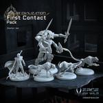 Verge of War Lord Asgar First Contact Box