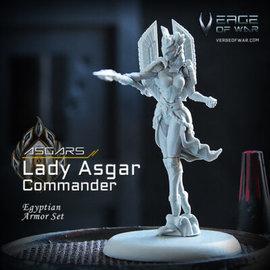 Verge of War Lady Asgar Commander