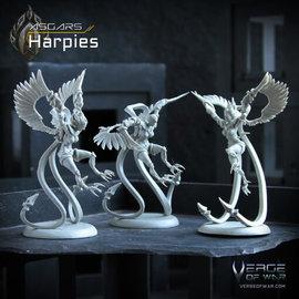Verge of War Harpies
